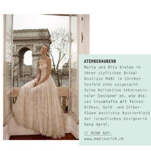 MABI im Brautmagazin